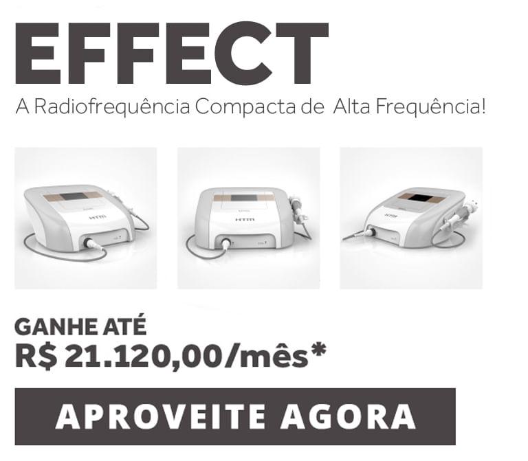 Fature mais com o Novo Effect!