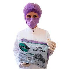 Touca-Lilas-Sanfonada-Descartavel-c--Elastico---ProtDesc---100Unid