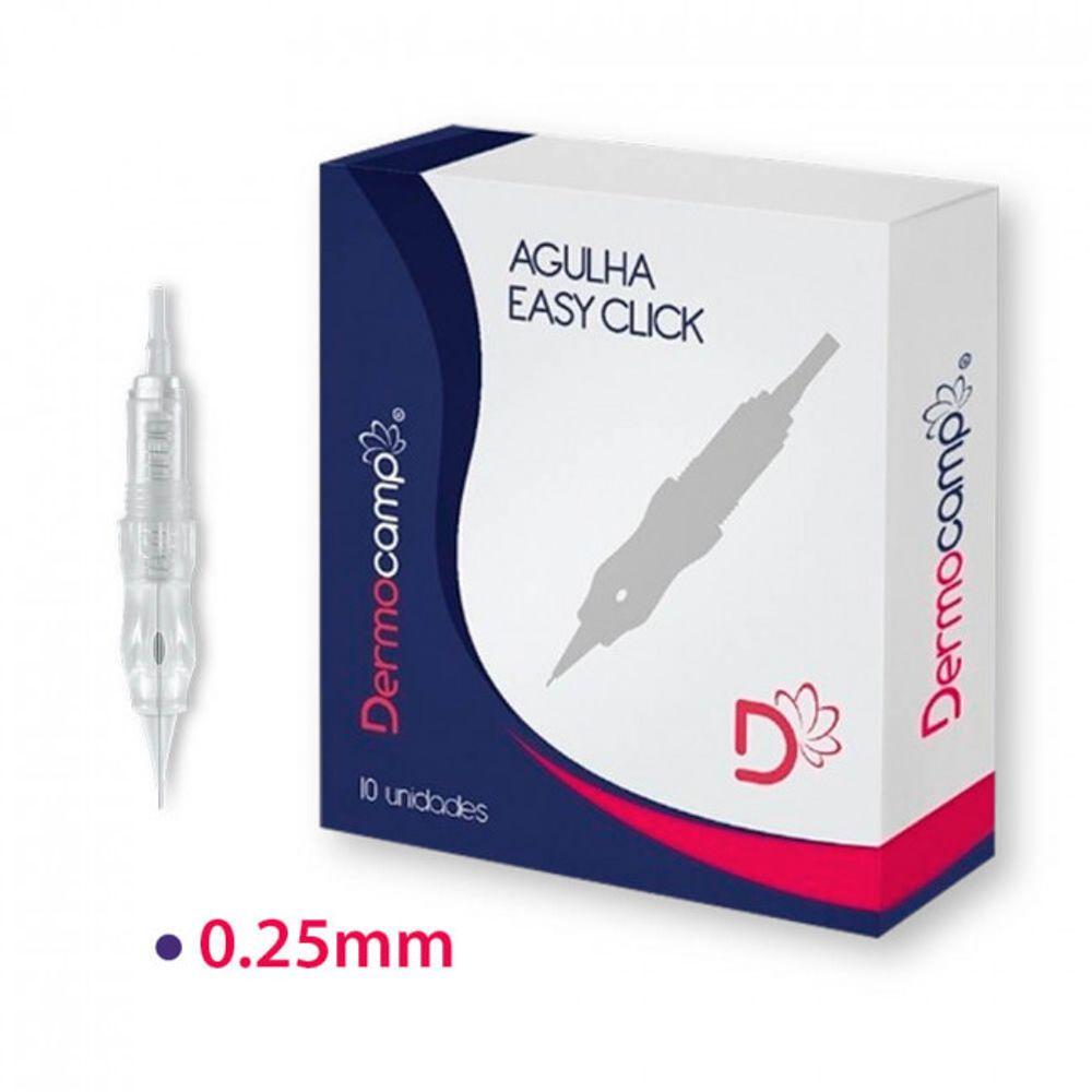 Agulhas-EASY-CLICK-1-Ponta-0.25mm-Normal---10-Unidades