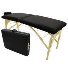 Maca-para-Massagem-Dobravel-Portatil-Preta