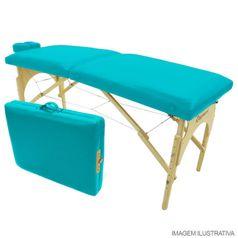 Maca-para-Massagem-Dobravel-Portatil-Verde-Agua