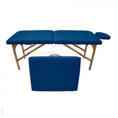 Maca-de-Massagem-Portatil-com-Altura-Fixa-para-Fisioterapia-e-Estetica-Azul-Noturno---Tudo-Belo