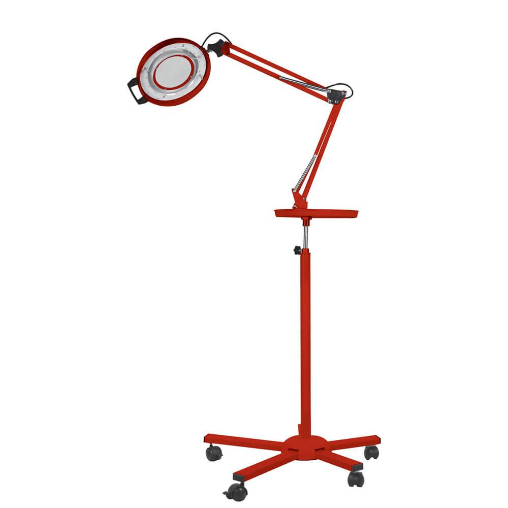 Luminaria-de-Aluminio-com-Bandeja-e-Tripe-Vermelha-Autovolt