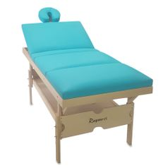 Maca-de-Massagem-Fixa-Elite-Tri-com-Altura-Regulavel---Verde-Agua
